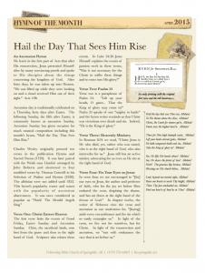 2015-04-HOTM-HailTheDayThatSeesHimRise