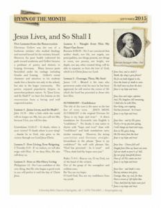 2015-09-HOTM-Jesus-Lives-and-So-Shall-I